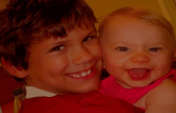 Grace et son frère