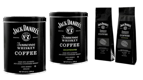Jack Daniel's café au whisky