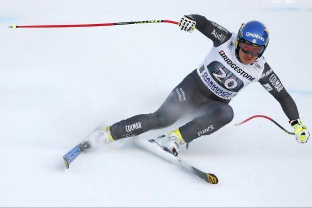 Valentin Giraud-Moine se casse la jambe à Garmisch-Partenkirchen