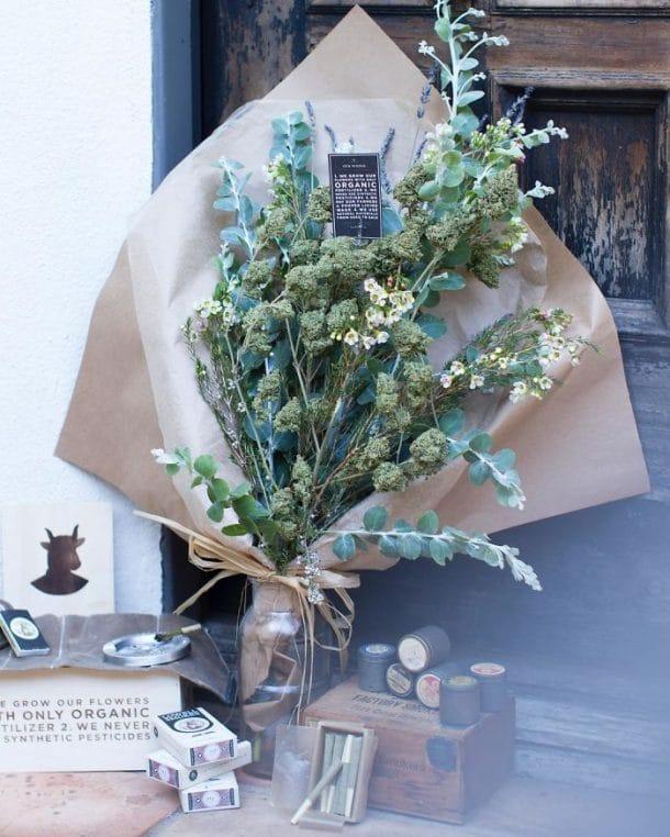 Bouquets de marijuana