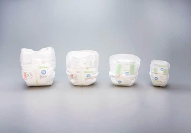 Huggies lance sa toute premi re dition de mini couches - Toutes les marques de couches pour bebe ...