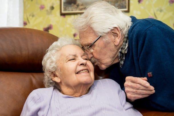Ils fêtaient leur 71ème Saint Valentin ensemble