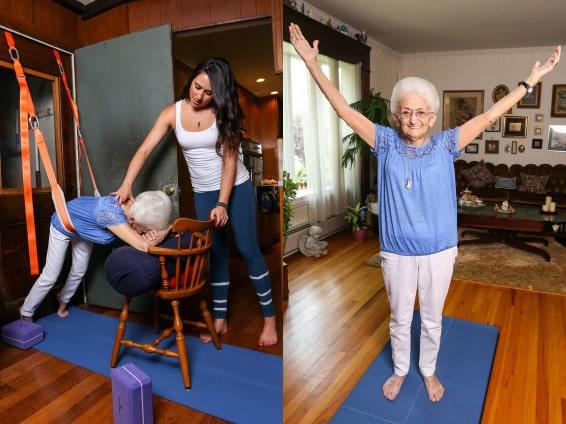 Idées de cadeaux pour une grand-mère Yoga