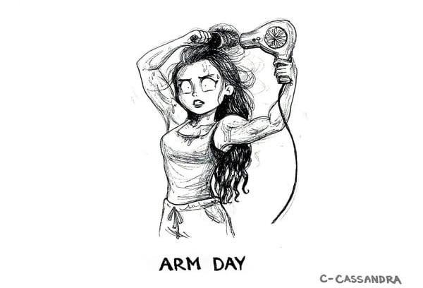 Cheveux longs l 39 horreur au quotidien r sum e en 15 dessins - Dessin reveil ...