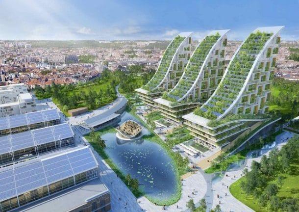 Quartier écologique à Bruxelles