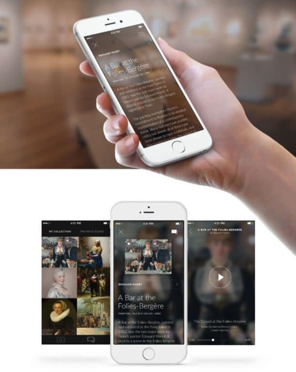 Smartify : une application pour identifier les oeuvres d'art !