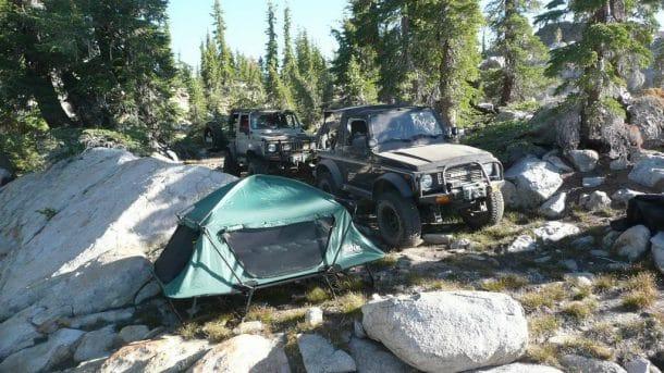 tente camping