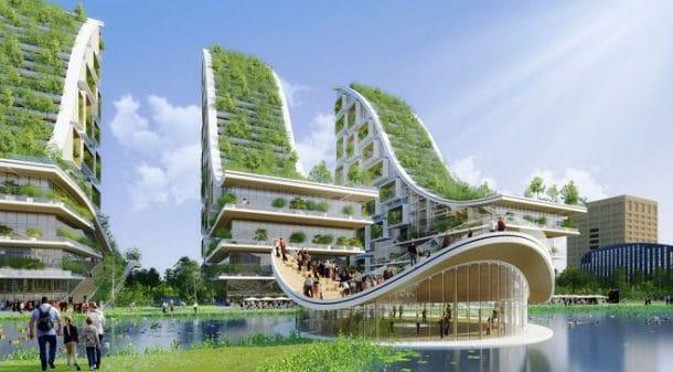Quartier vert à Bruxelles