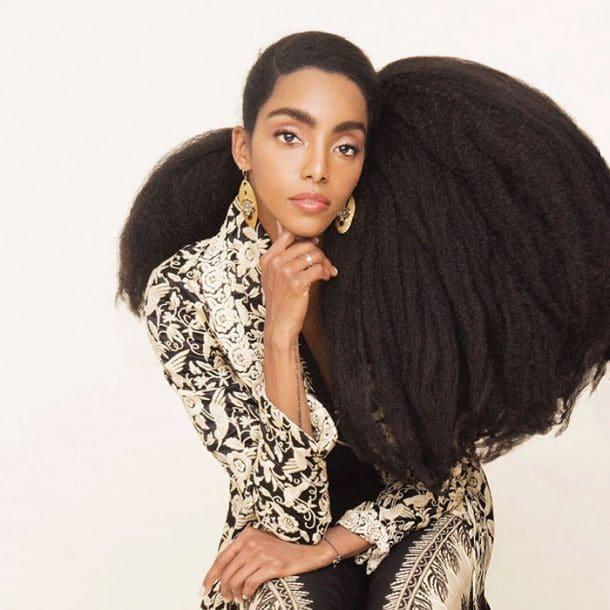 cheveux afro naturels
