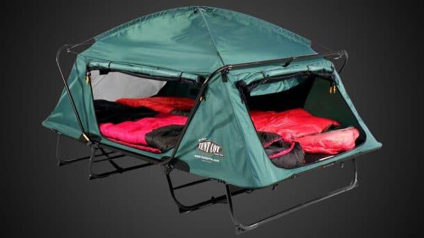 cette tente sur lev e vous permet de ne plus dormir m me le sol ou comment percevoir le. Black Bedroom Furniture Sets. Home Design Ideas