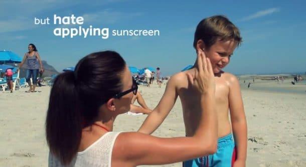 Nivea crème solaire pour enfant