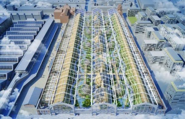Quartier éco-responsable à Bruxelles