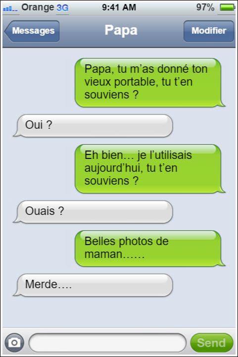 12 Conversations Sms Avec Des Papas Qui Ne Manquent Pas De