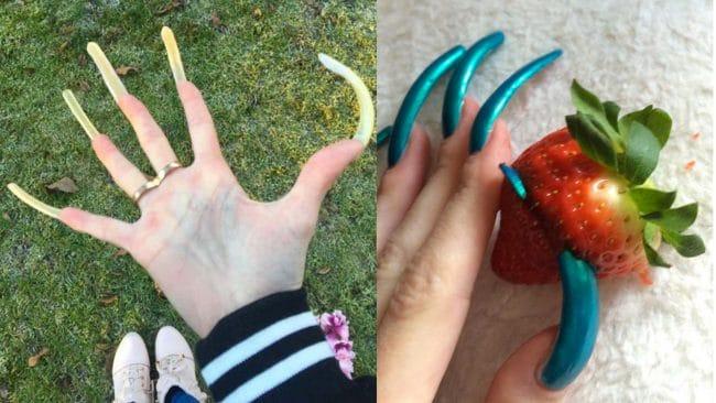 Une ado passionnée par ses ongles ne les coupe plus depuis 3 ans !