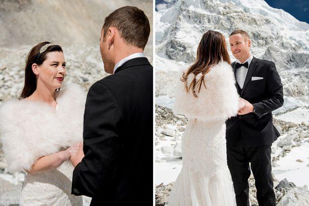 mariage insolite mont everest