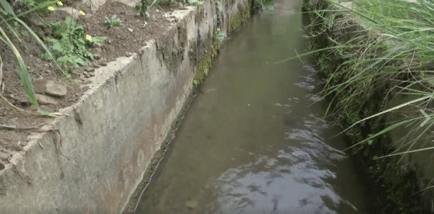 Canal de Huang dafa en chine