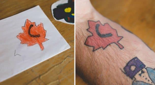 tatouages de Keith Anderson dessins de Kai