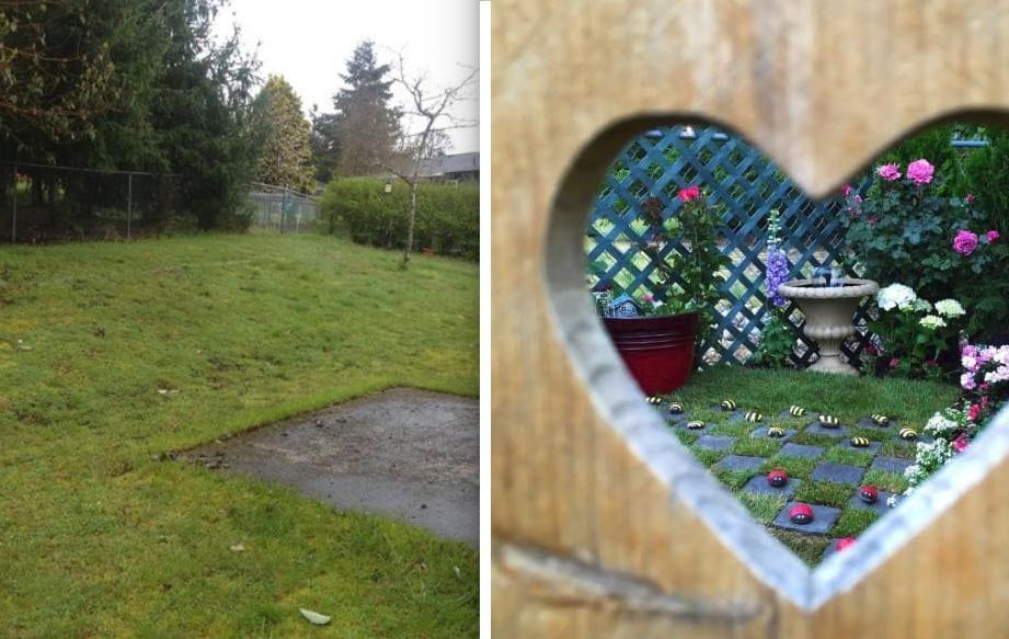 Cette maman a transform une partie de son jardin en petit for Blythe le jardin de maman