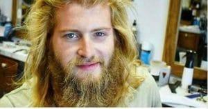 métamorphose barbe et coupe de cheveux