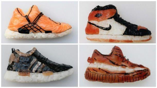 """""""shoe Shi"""" Du Sushis Réaliser Des De Forme L'art Ou Comment En lKTu51JFc3"""
