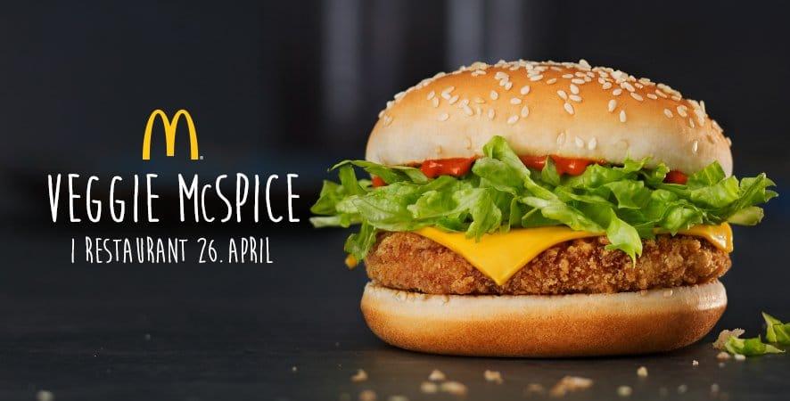 McDonald's a enfin daigné ajouter un burger vegan à son menu!