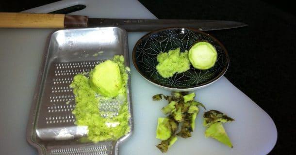 wasabi pour lutter contre la calvitie