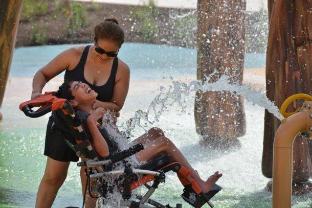 parc aquatique accessible aux personnes handicapees