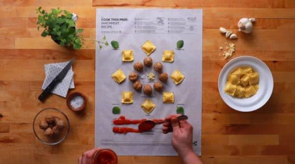 Ik a vous propose de cuisiner facilement avec une feuille de papier cuisson super ing nieuse - Cuisiner avec une bouilloire ...