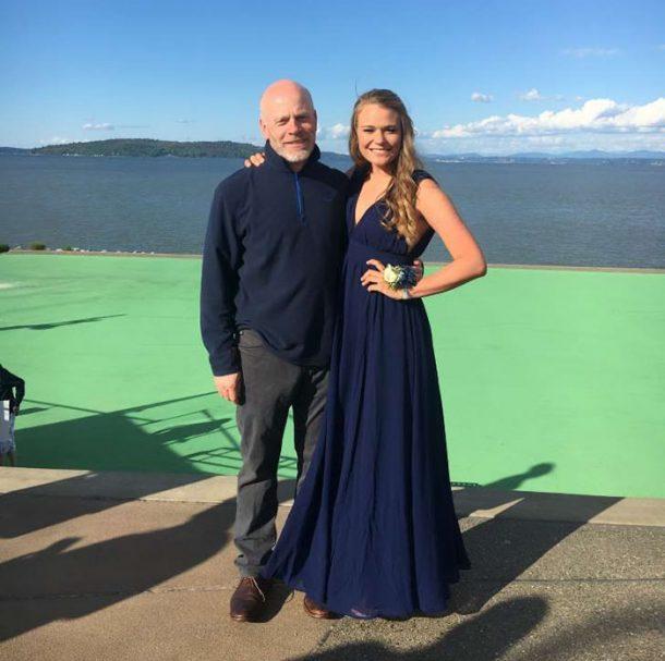 Meg Sullivan et son papa