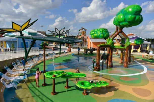 Morgan's wonderland parc aquatique aux etats-unis