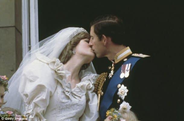 mariage de Diana et Charles