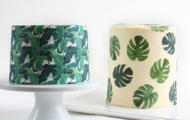 tapisserie comestible wallpaper cakes