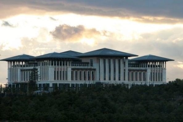 palais erdogan en turquie ankara