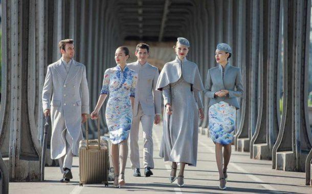Hainan Airlines nouveaux uniformes