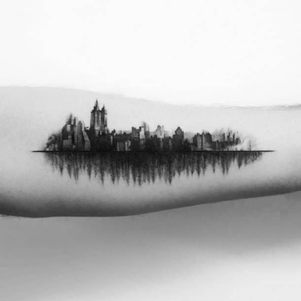 tatouages d'architecture