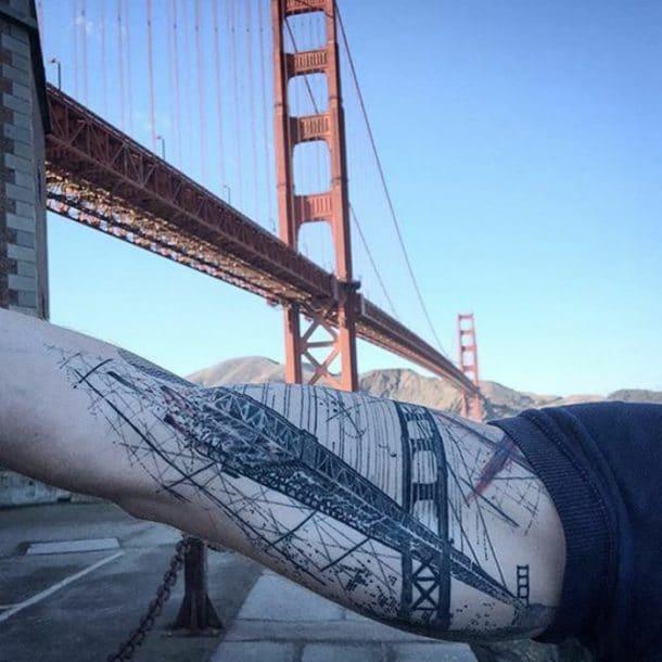 tatouage pont