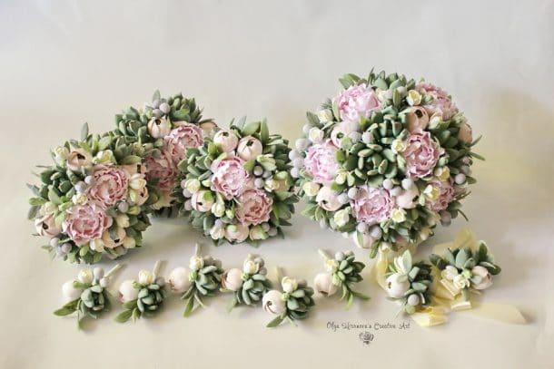 bouquets de mariage artificiels