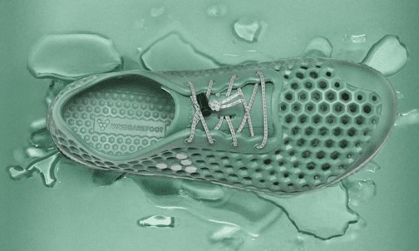 chaussures a base d'algues marines