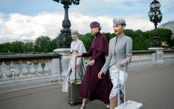 Hainan Airlines uniformes haute couture