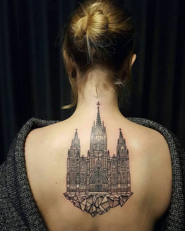 tatouage sagrada familia