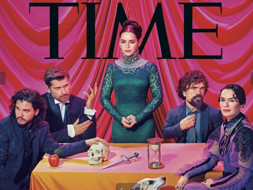 photos acteur de game of thrones time magazine