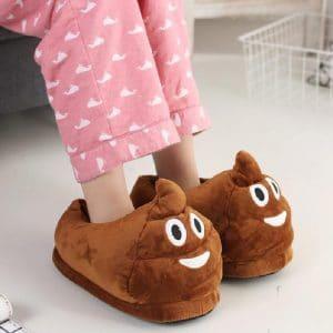 chaussons emoji