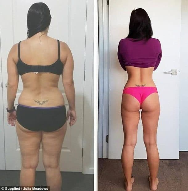 transformation physique femme