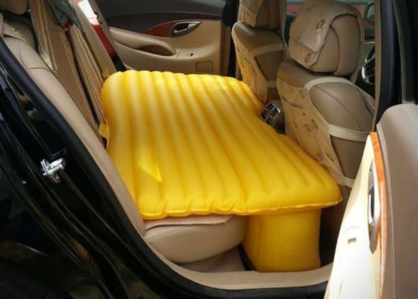 matelas gonflable pour voiture