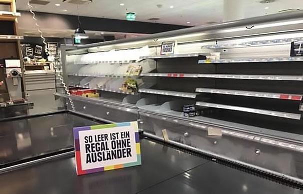 Edeka supermarche Hamburg