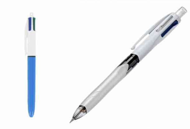 Fin d'une époque : le stylo 4 couleurs perd une couleur, découvrez