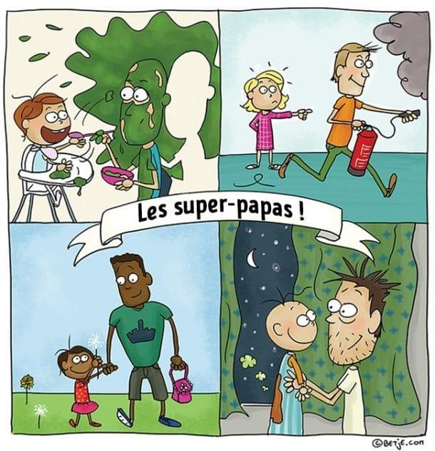vie de papa