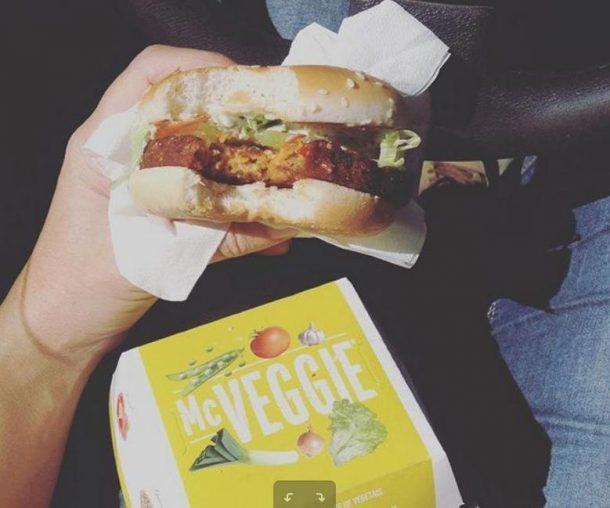 mcdo burger vegetarien