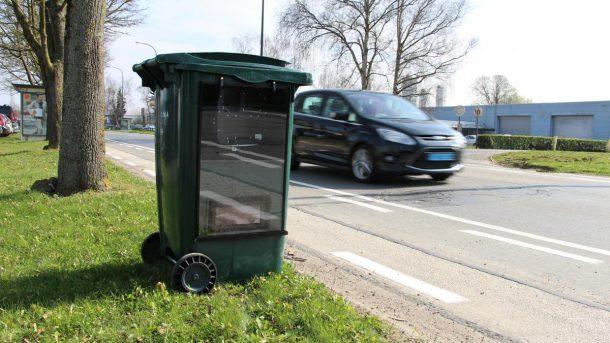radars poubelles belgique
