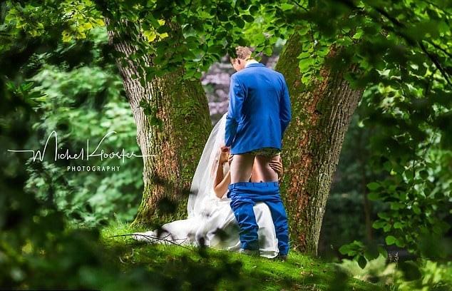 photo de mariage osee